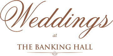 Weddings at The Banking Hall