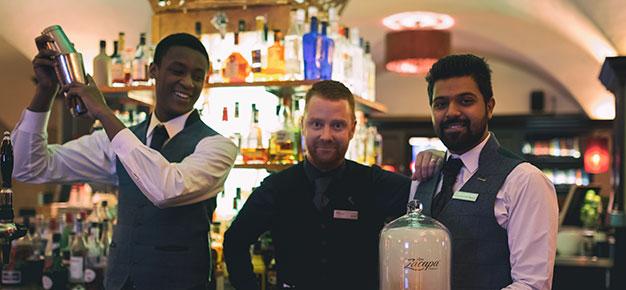 Cocktails at the Mint Bar Dublin