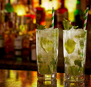 Mojitos at the Mint Bar Dublin