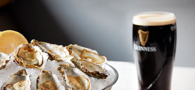 Oysters and Guinness Dublin