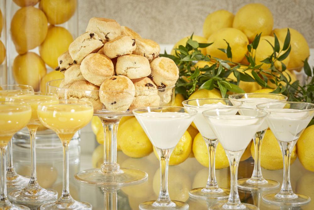 Citrus Themed Break Beverage Selection