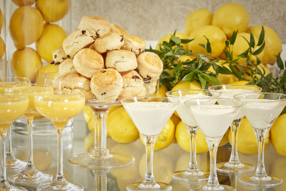 Citrus Themed Break Beverage Selection Banking Hall Dublin
