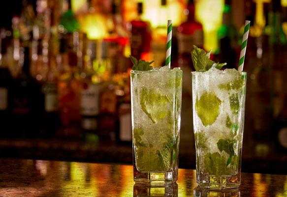 Mojito at the Mint Bar Dublin