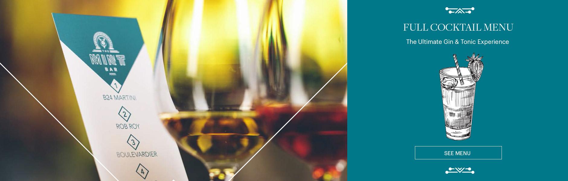 Cocktails-Menu