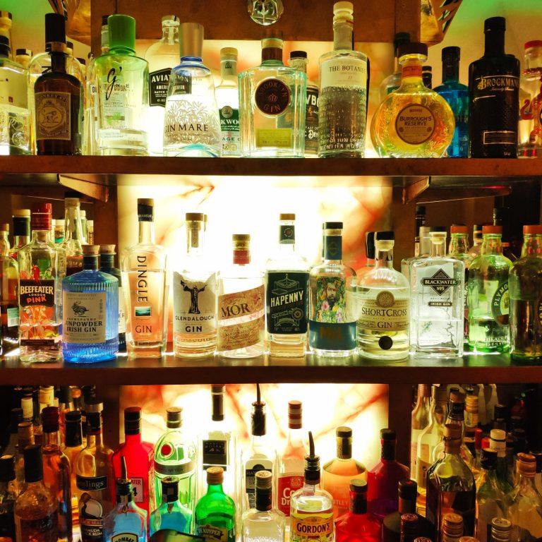Gin Selection Mint Bar Dublin
