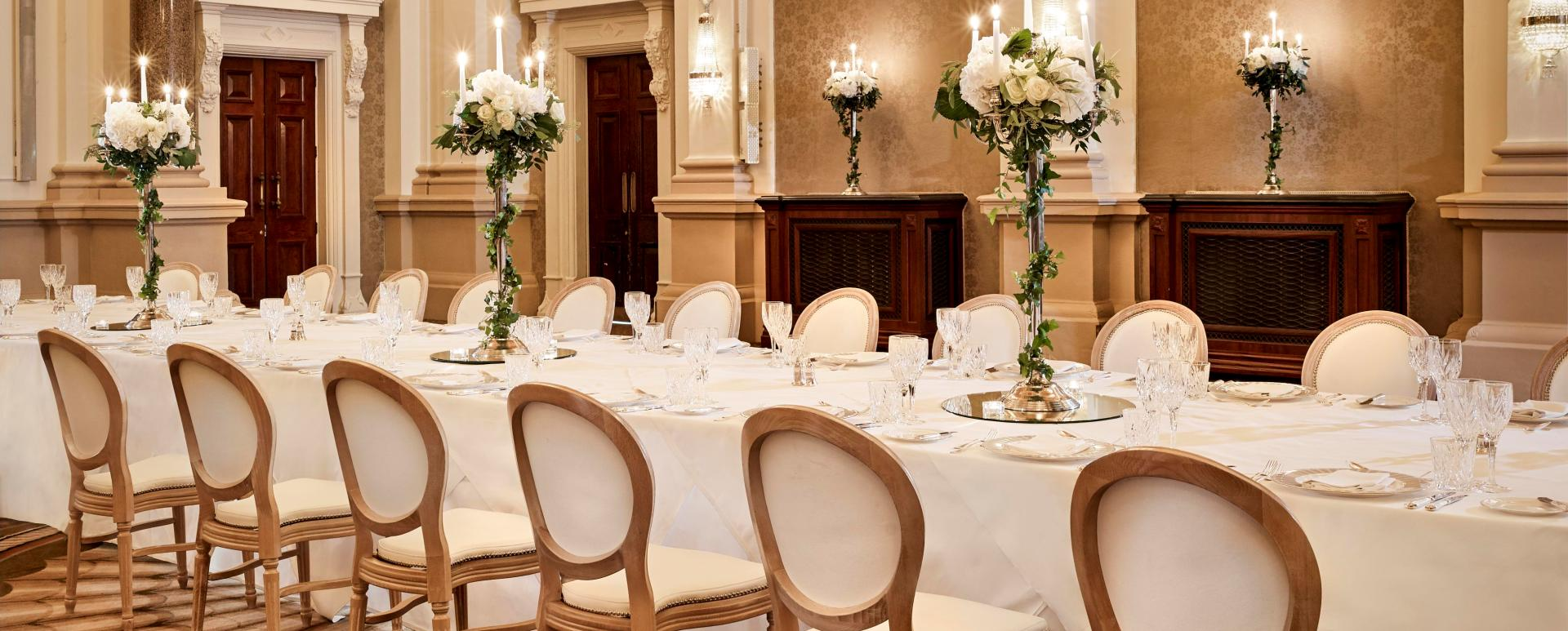 Private Dining The Banking Hall Dublin - Executive Dining