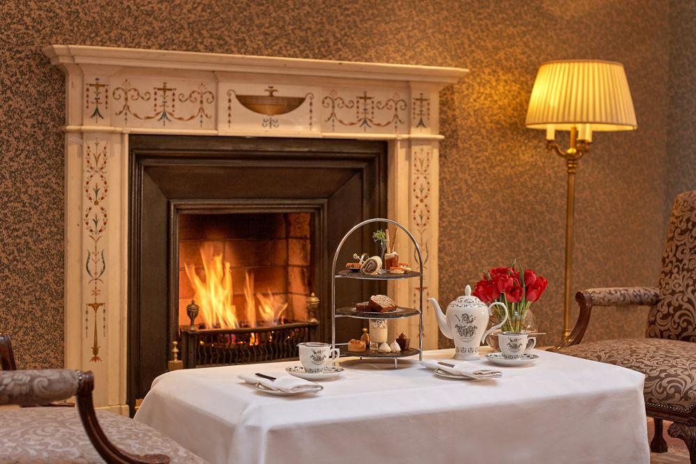 The Atrium Lounge Fireplace