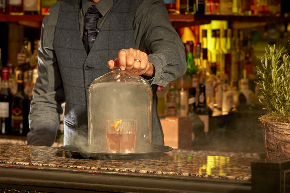 The Mint Bar – Inventive Smoked Cocktail