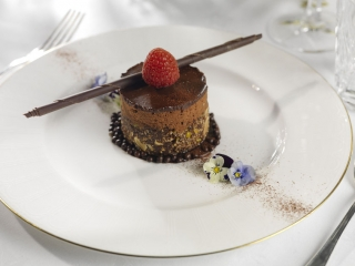 Wedding Westin Hotel Dublin - chocolate dessert
