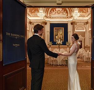 Wedding at the Banking Hall Dublin