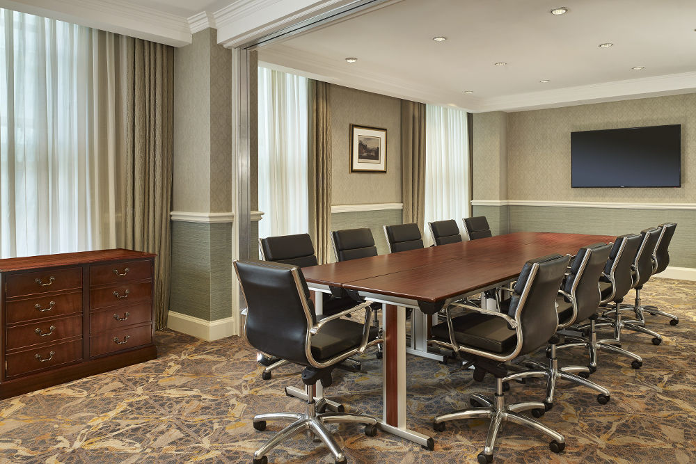 the Hapenny Farthing - boardroom style Dublin