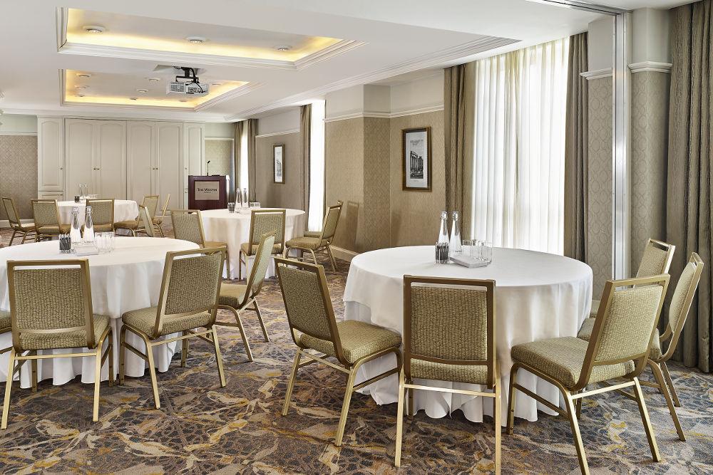 The Guinea Florin - banqueting style- initmate wedding venue Dublin