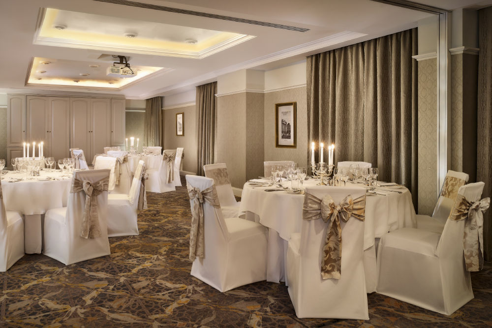 Inimate wedding Dublin -The Guinea Florin Banquet Style-