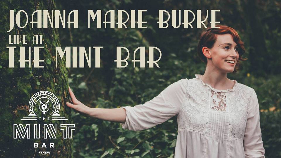 Joanna Marie Burke performing live at the mint bar