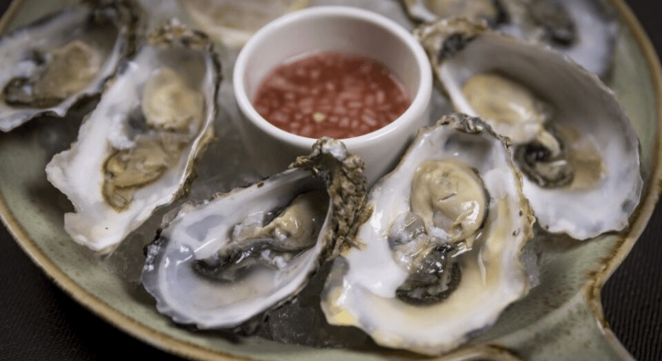 Carlingford Oysters at the westin dublin