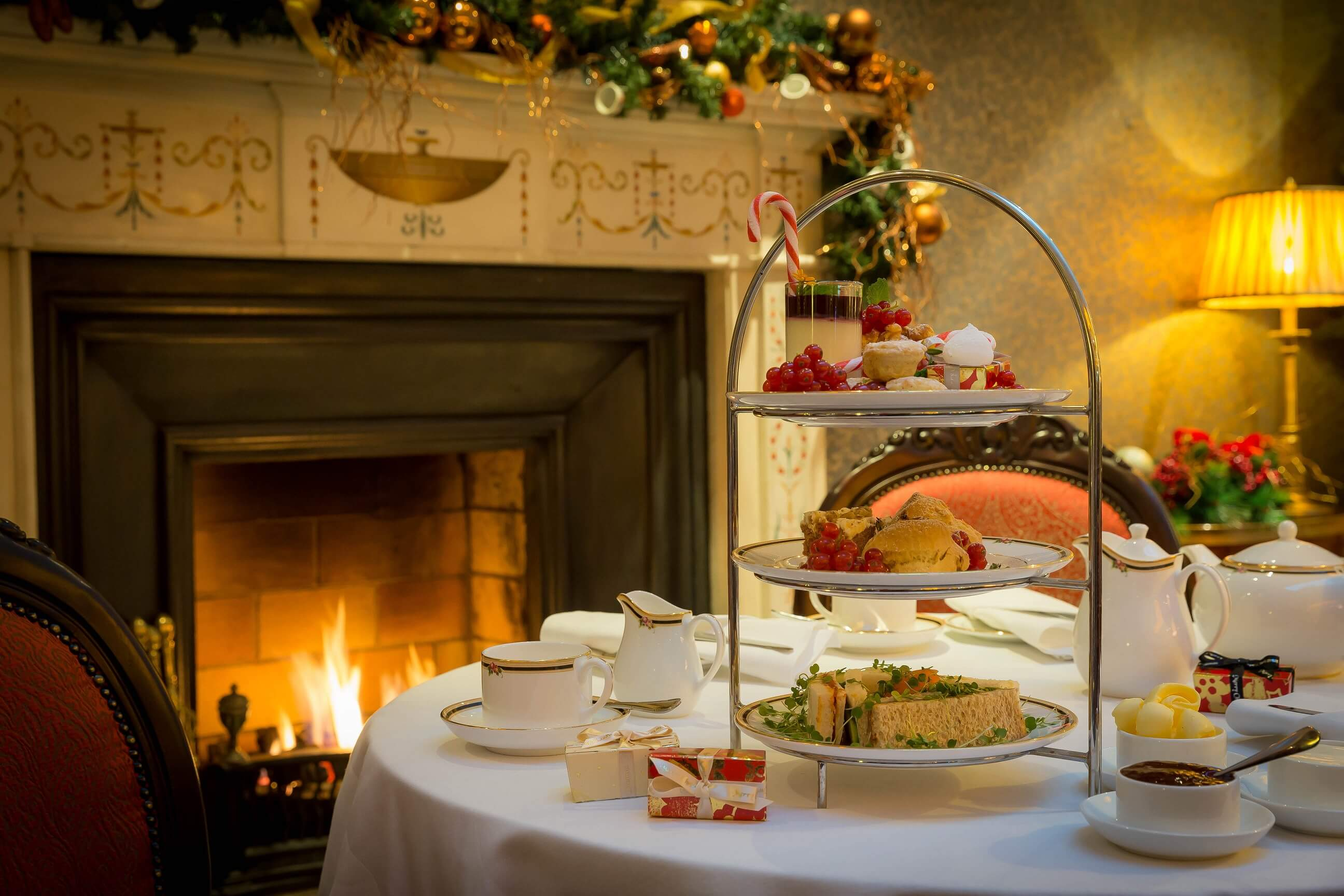 Festive Afternoon Tea in The Atrium Lounge
