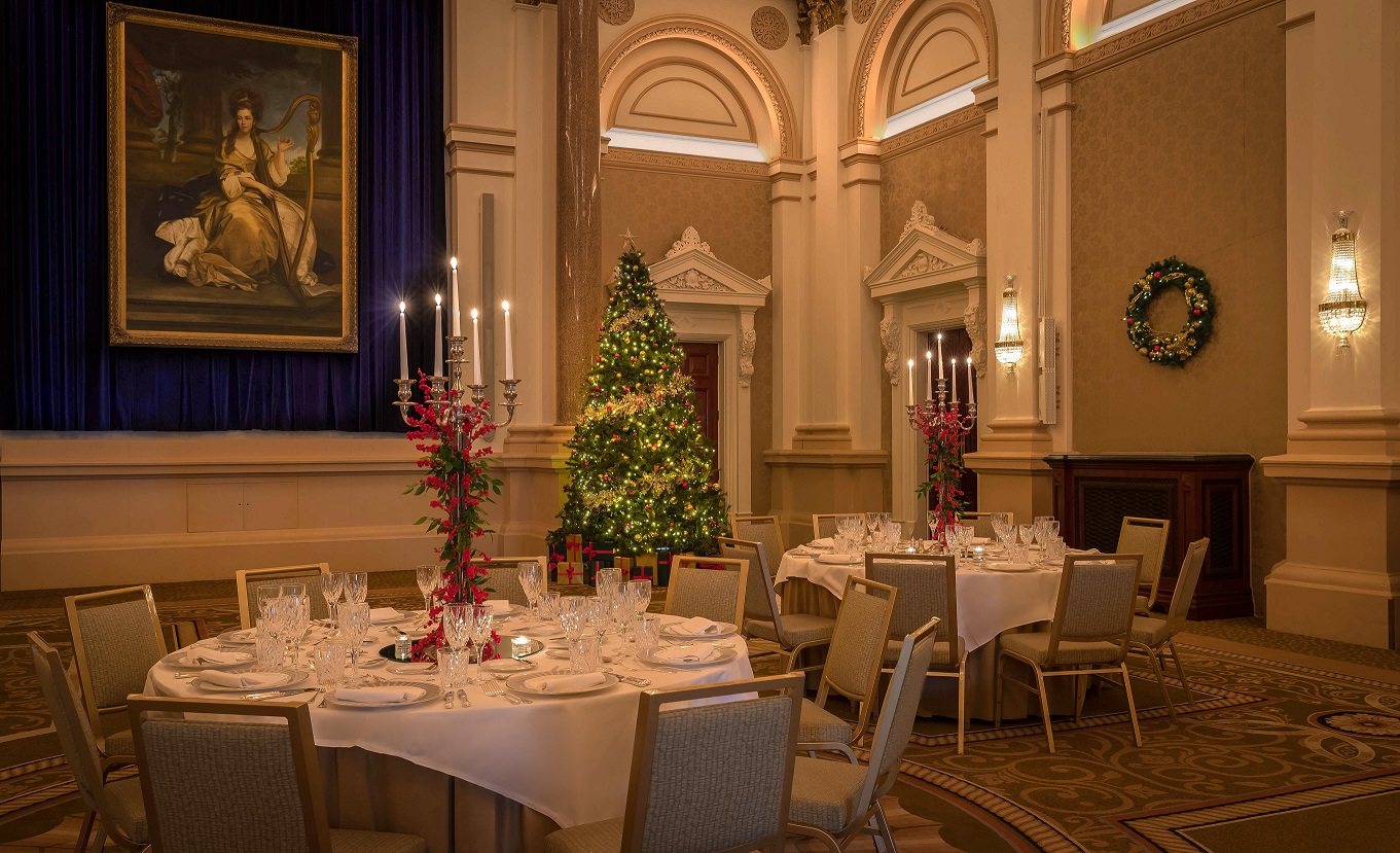 Festive Dining at the Banking Hall