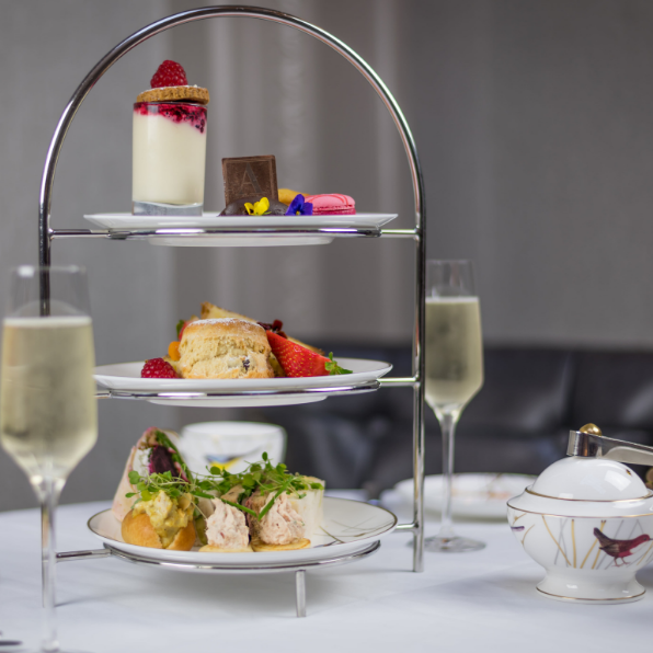 prosecco afternoon tea at westin dublin