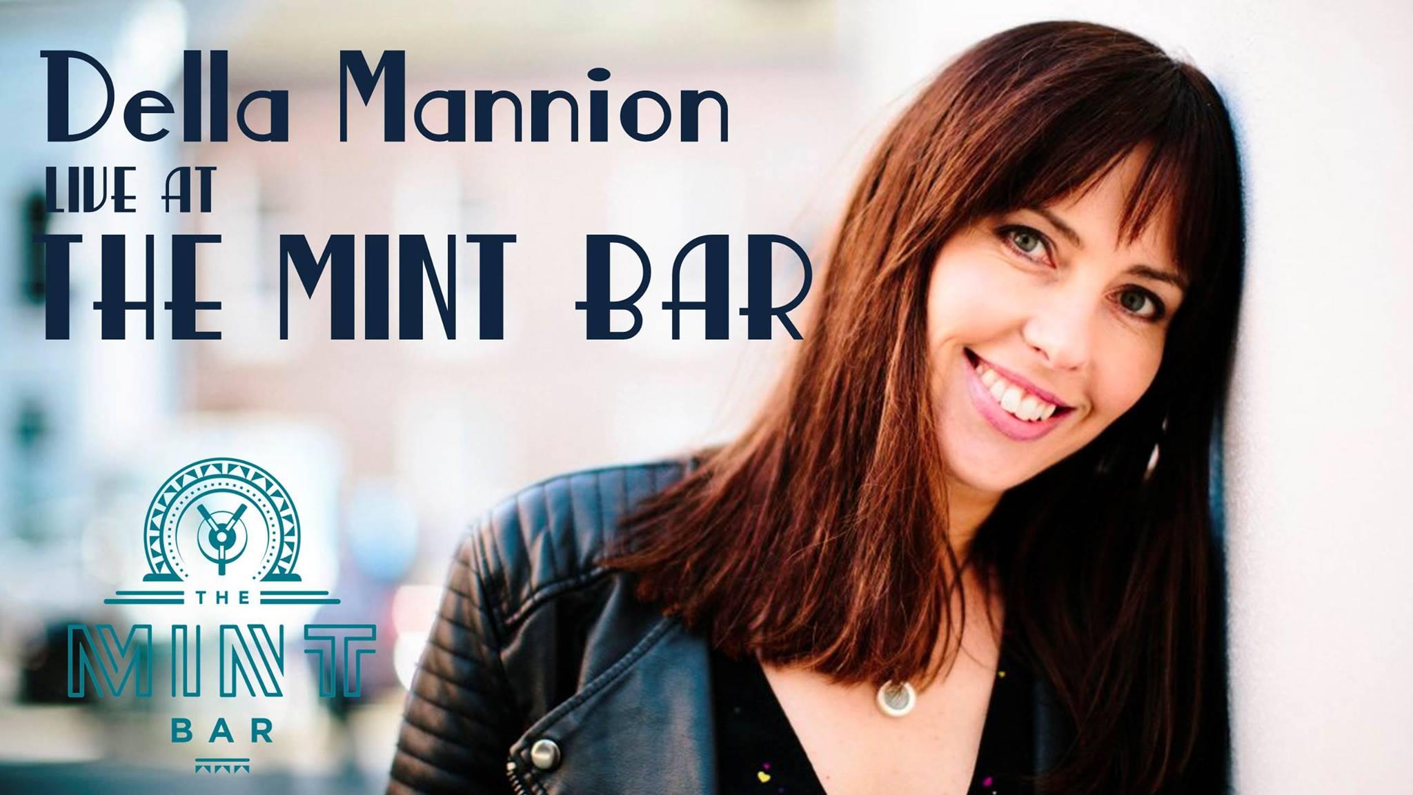 Della Manion live at the mint bar dublin