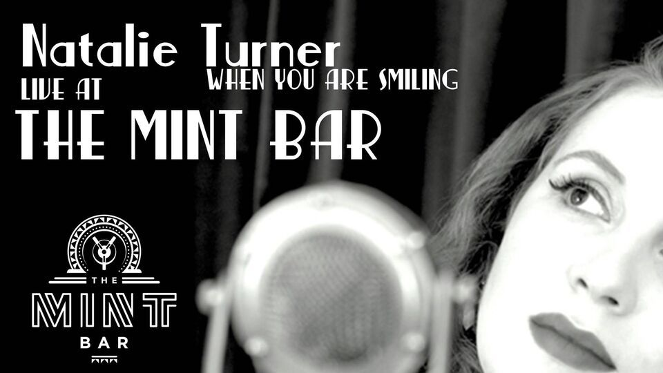natalie turner when you are smiling live at the mint bar dublin