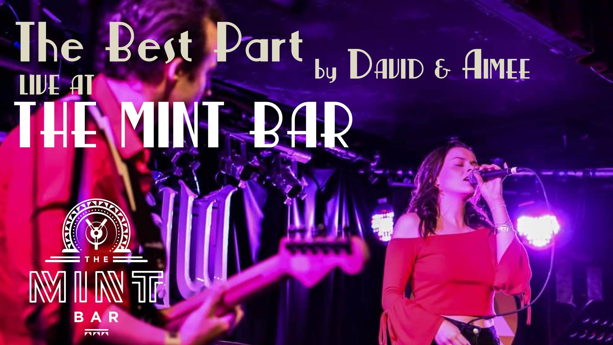 The Best Part performing live at the mint bar dublin