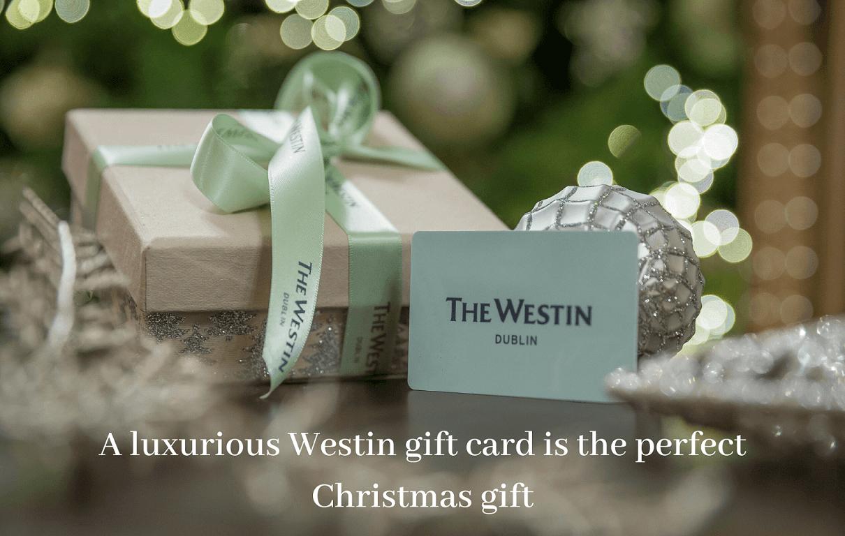 westin dublin festive luxury gift voucher