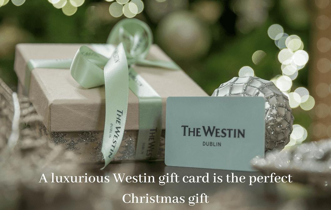 Westin dublin festive gift voucher