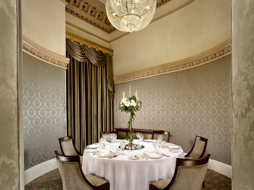 Private dining at the Teller Room in the Banking Hall Dublin