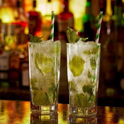Mojitos at the Mint Bar in the Westin Dublin