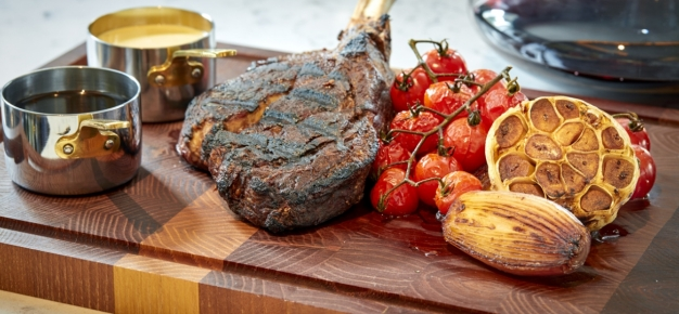 Steak to share at Morelands Grill