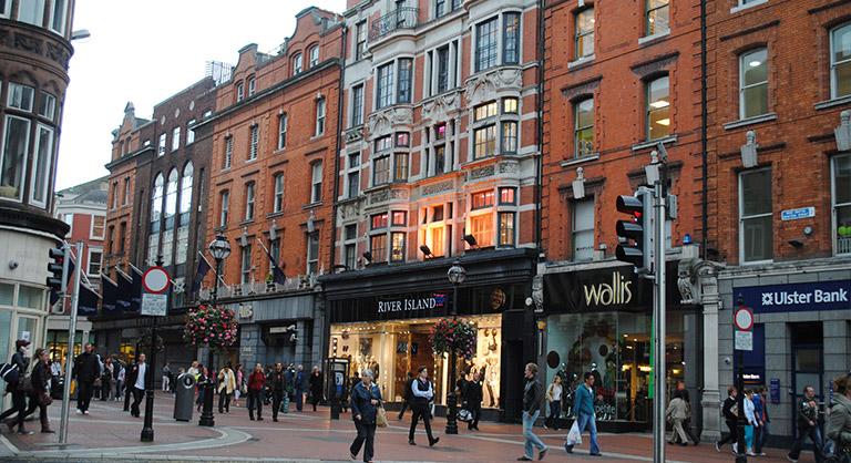 Grafton Street Shopping
