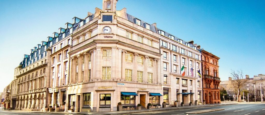 stay for breakfast at the westin dublin