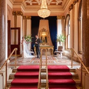 intimate weddings - banking hall at the westin dublin